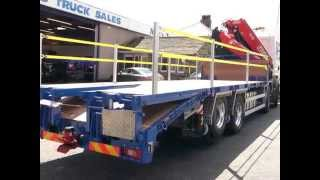 2010 SCANIA FASSI F455 CHEESEWEDGE BODY BY MACS TRUCK SALES