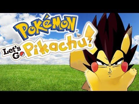 Let's Go Vegetachu | Vegeta Plays Pokemon: Let's Go, Pikachu! | Renegade For Life