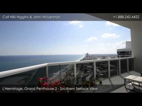 L'Hermitage, 3200 N. Ocean Blvd, Ft. Lauderdale, FL: Grand Penthouse 2