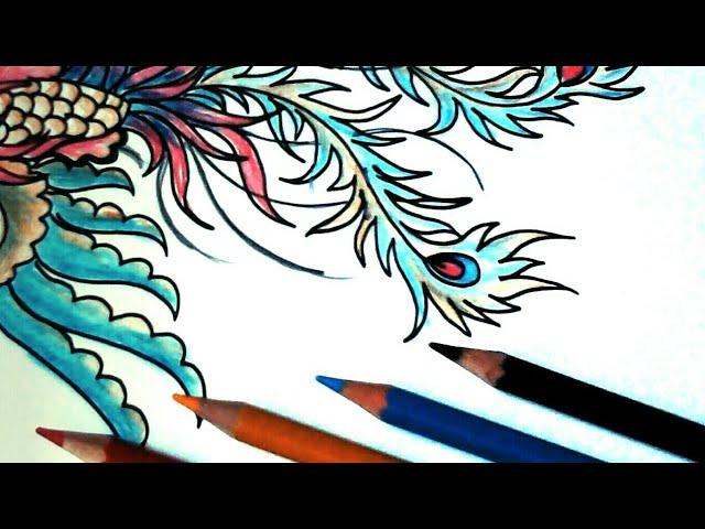 Tutorial Menggambar Burung Hong Di Modifikasi Youtube