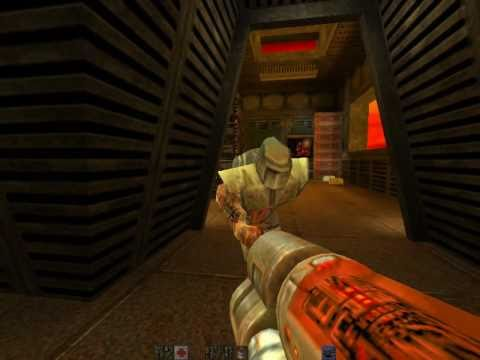 Quake 2 Railgun demo