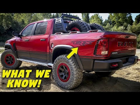 Everything We Know So Far About the HELLCAT Ram Rebel TRX – Specs & Timeline (2016-2019)