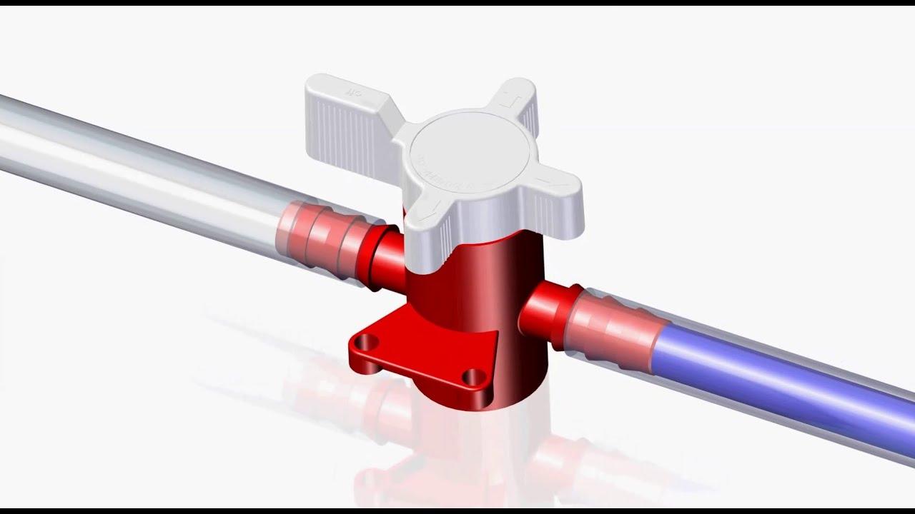 2 way vs 3 valve fender s1 switch wiring diagram valves pp pvdf youtube