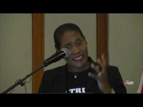 Antigua & Barbuda CCJ Referendum town hall meeting - Pearl Quinn speech