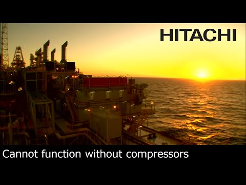 The Power of Gases that Supports the World - Hitachi's Compressor Business - Hitachi