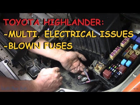 Toyota Highlander - To Fix It, Follow The Smoke! 🔥