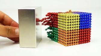 Magnetic Balls VS Monster Magnets in Slow Motion | Magnetic Games