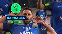 GF38 - Bourg en Bresse 01 ( 2-1 ) - Résumé - (GF38 - BBP) / 2017-18