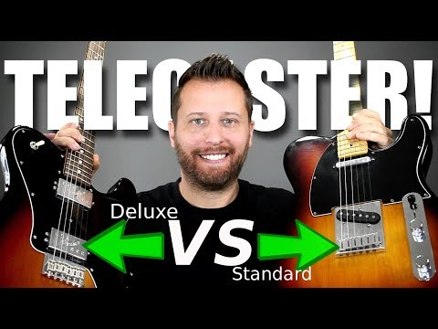 SINGLE COIL Or HUMBUCKER??- Telecaster Tone Comparison!