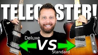 SINGLE COIL or HUMBUCKER??- Telecaster Tone Comparison!