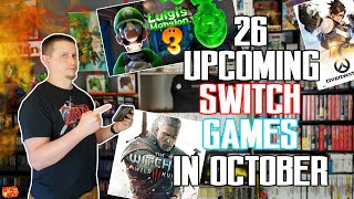 26 Awesome Nintendo Switch Games Coming In October 2019 ! | Retrowolf88