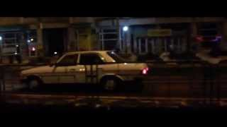 Mercedes W123 Funky Ride
