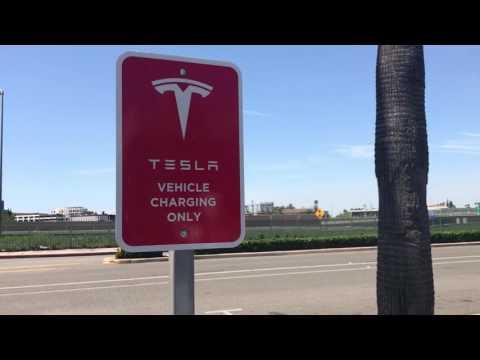 Tesla dealership in C.A