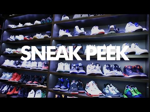 "Andre Iguodala Sneaker Collection - A ""Sneak Peek"" In Andre Iguodala's Sneaker Room"