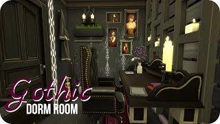 Sims 4 Speed Build | Goth Dorm Room