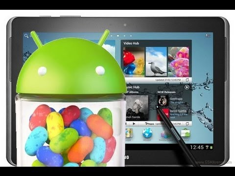 Howto Flash Galaxy Tab 2 10 1 P5110 To Original Jelly Bean Android 4 1 2 De Youtube