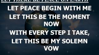 Let There Be Peace on Earth Instrumental