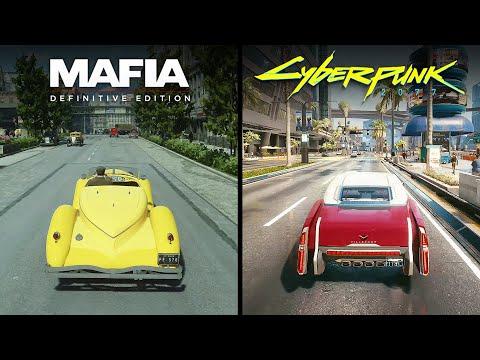 Cyberpunk 2077 vs. Mafia: Definitive Edition (Physics, Ragdoll & AI Comparison) |