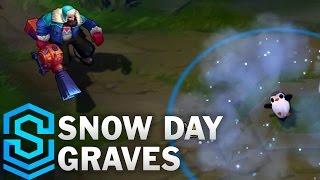 Snow Day Graves Skin Spotlight - League of Legends