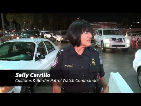Day in the life - San Ysidro Customs & Border Protection Agents