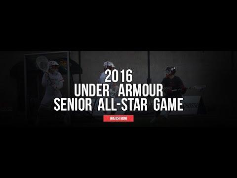 2016 Under Armour Senior AllStar Game Highlights  2016 Lax.com Highlight