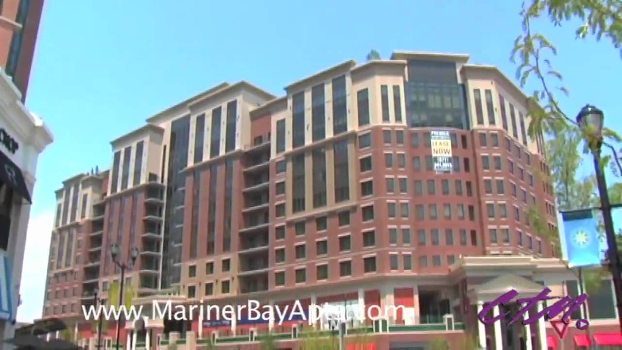 mariner bay baltimore md 21202 luxury apartments youtube