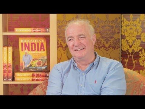 Rick Stein interview about INDIA - Random Book Talk