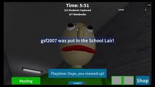 Roblox: The Schoolhouse part 2