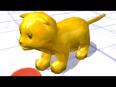 СИМУЛЯТОР КОШКИ #5 Золотой котенок и рысь в Cat Simulator. Кид стал котом на пурумчата