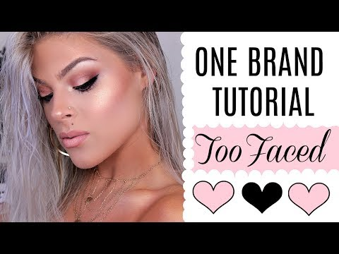 One Brand TUTORIAL | Too Faced | Valerie Pac