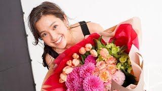 モデルでタレントの中村アンが出演する女性下着ブランド「ピーチ・ジョ...