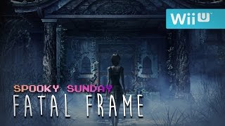 HAIR IN THE WATER?!?! | Fatal Frame | (Spooky Sunday)