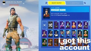 I put a PASSWORD GRABBER in my Fortnite name and got this account..