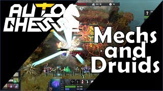Dota Auto Chess - Early Game Power = Mechs and Druids - #11