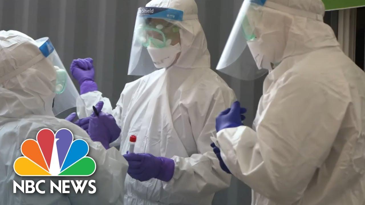 Inside South Korea's COVID-19 Drive-Thru Test Sites | NBC News NOW