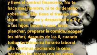 EL HOMBRE QUE MALTRATA- REFLEXION
