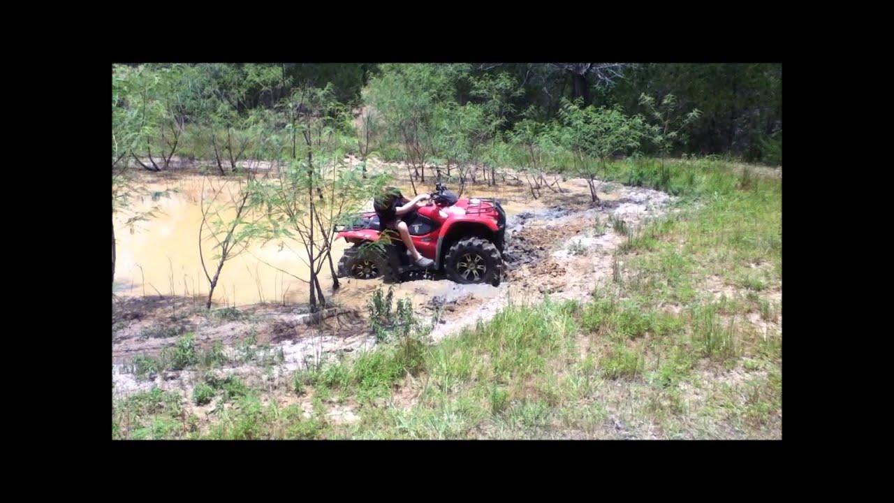 Yamaha Grizzly 660 >> ATV Mudding- Honda rancher 420, 350, Yamaha Grizzly 660 - YouTube