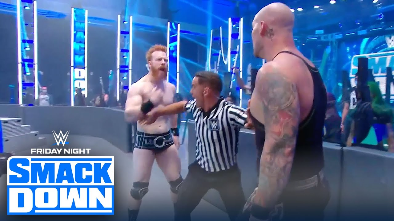 King Corbin and Sheamus explode after Matt Riddle's bounty costs both wins | FRIDAY NIGHT SMACKDOWN