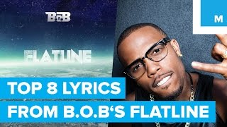 The 8 Most Ridiculous Lyrics From B.o.B.'s 'Flatline' Track Decoded