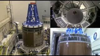 Orion Vibe Test at NASA Glenn's Plum Brook Station