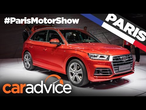 2017 Audi Q5 | 2016 Paris Motor Show