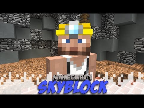 Mining World And Sell Wand! - Skyblock - EP17 (Minecraft)