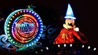 4K Paint the Night Parade Main Street Corner Ver. Disneyland 60th Anniversary 2015-07-20