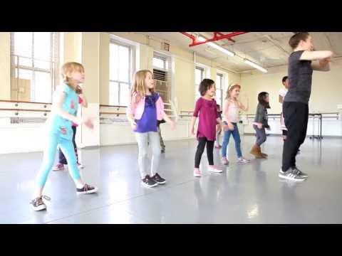 "Kids' Hip-Hop Dance Class At The Joffrey Ballet School With Ephrat ""Bounce"" Asherie"