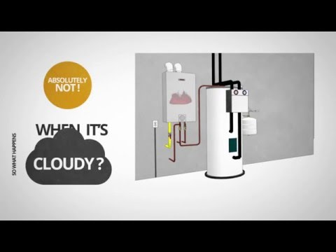 Bosch Solar Water Heating 101   How Solar Water Heating Works
