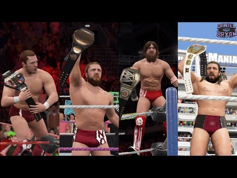 Daniel Bryan - Grand Slam Champion (U.S/Tag Team/WWE/IC Championships) - WWE 2K17 PC