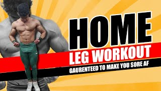HOME LEG WORKOUT l Guaranteed Soreness l Save your muscles