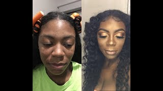 Bronze Goddess Makeup Transformation | Kreatrix Beaute