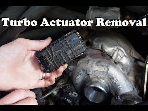 07-09 Sprinter Turbo Actuator Removal and Diagnostic