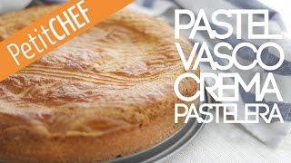 Pastel vasco relleno de crema pastelera   Petitchef